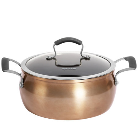 Epicurious Aluminum Nonstick 5-qt Covered ChiliPot