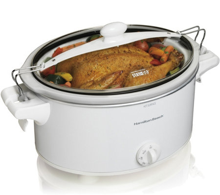 Hamilton Beach Stay or Go 6-qt Slow Cooker