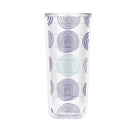 ThermoServ Set of (4) 18-oz Tritan Tumblers - Spirals