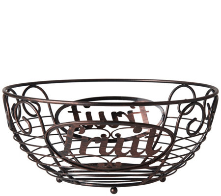 Gourmet Basics by Mikasa Chit Chat Fruit Basket