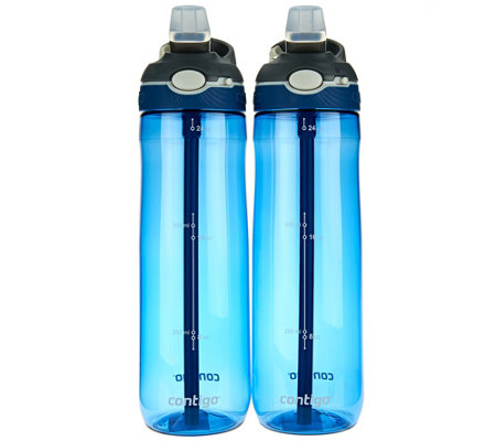 Contigo Set of 2 24oz. Ashland Water Bottles