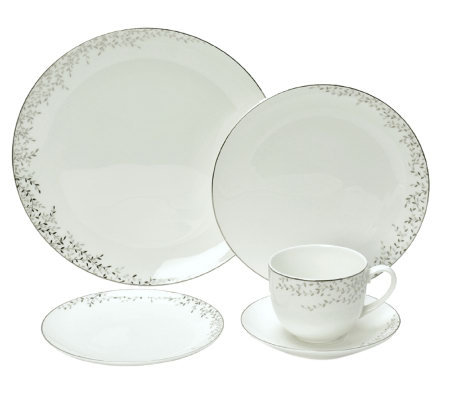 Mikasa Shimmer Vine 5-Piece Place Setting