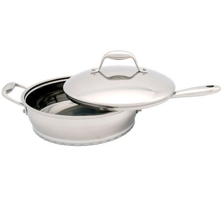 BergHOFF Zeno 10'' Covered Saute Pan - 3 Quart