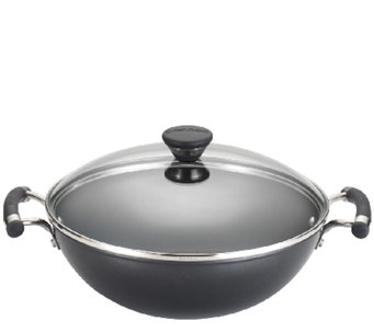 "Circulon Acclaim 12.5"" Covered Wok - K303526"