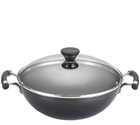 "Circulon Acclaim 12.5"" Covered Wok"