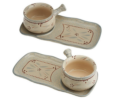 Temp-tations Old World 4-pc. Soup & Sandwich Set