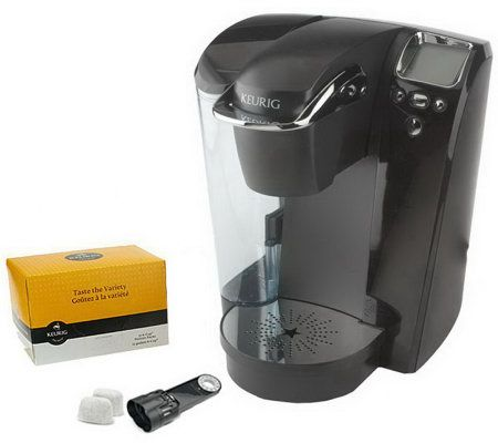 Keurig Coffee Maker Not Enough Water : Keurig B76 Platinum Coffee Maker w/ 12ct Variety Pack & Water Filter - Page 1 QVC.com