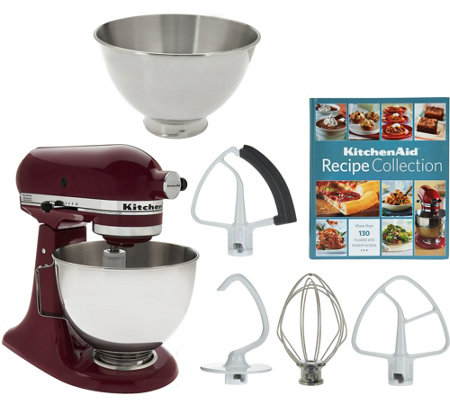 KitchenAid 4.5qt. 300W Tilt Head Mixer with 3qt. Bowl