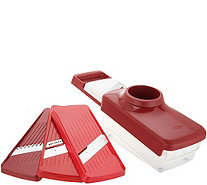 Chef'n Pull & Slice Box Mandoline with 4 Blades - K46426
