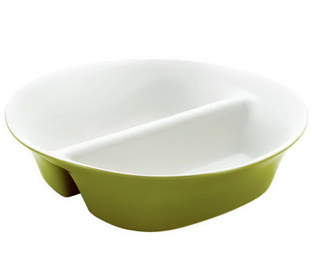 "Rachael Ray Round & Square 12"" Divided Dish"