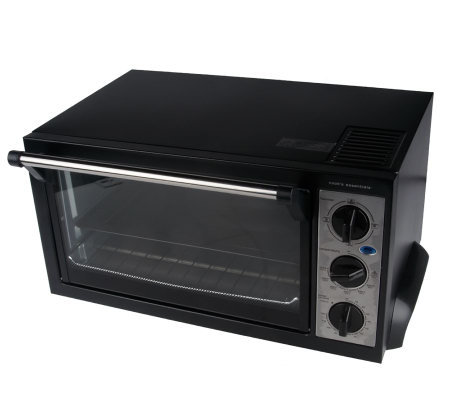 CooksEssentials 6-Slice Convection Oven with Rack & Baking Tray