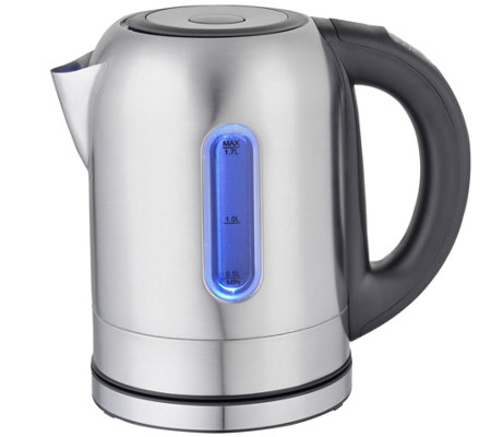 MegaChef 1.7-Liter Electric Teakettle with 5 Presets