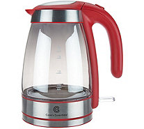 Cook's Essentials Mirrored Electric Tea Kettle - K45327