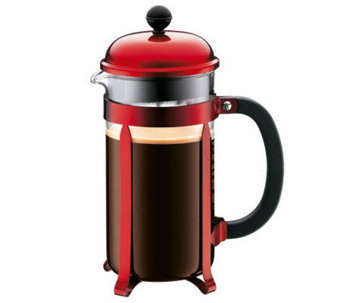 Bodum Chambord French Press 34-oz Coffee Maker- Red - K133228