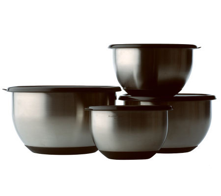BergHOFF Geminis 8-Piece Mixing Bowl Set