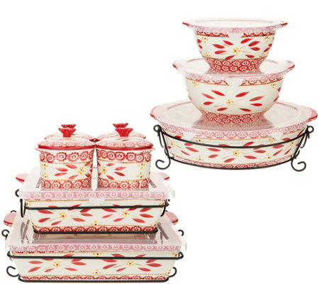 Temp-tations Old World 16-Piece Bakeware Set