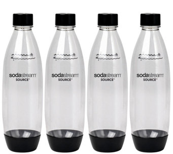 SodaStream 1-liter Source Plastic Carbonating Bottles - 4-Pk - K305029