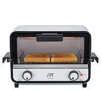 SPT Easy Grasp 2 Slice Countertop Toaster Oven   K376029