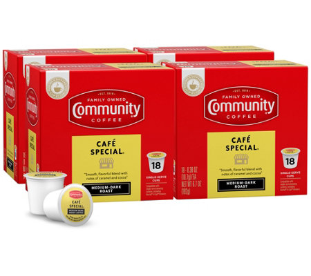 Community Coffee 72-ct Cafe Special Single-Serve Cups