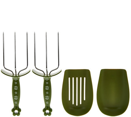 Temp-tations Set of 2 Meat Forks
