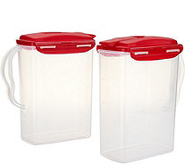 Lock & Lock Set of 2 Pitcher Storage Set - K45429