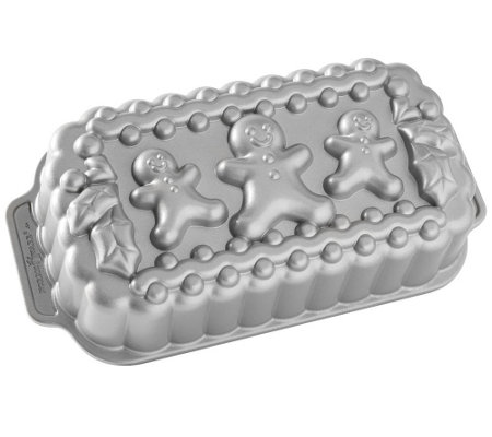 Nordic Ware Gingerbread Man Family Loaf Pan