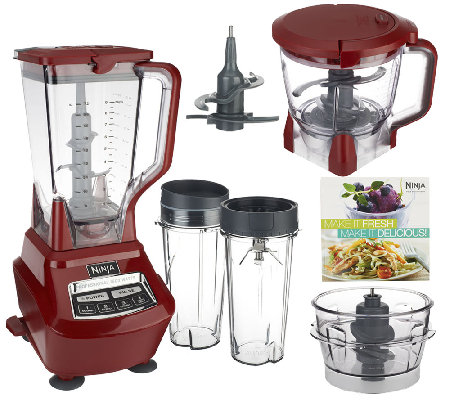 Ninja 72 oz. Mega Kitchen System with Nutri Ninja & Recipe Book ...