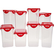 Lock & Lock 8-Piece Pantry Storage Set - K46430