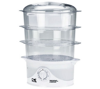 Kalorik 3-Tier Food Steamer - K302531