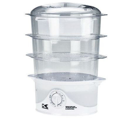 Kalorik 3-Tier Food Steamer