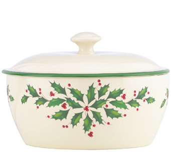Lenox Holiday Covered Casserole - K303631