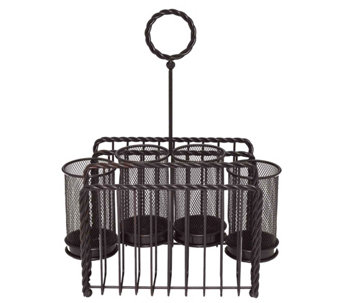 Gourmet Basics by Mikasa Rope Picnic Caddy - K305031