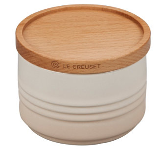 Le Creuset 12-oz Canister with Wooden Lid - K305531