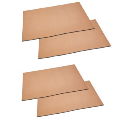 Copper Chef Set of 4 Grill and Bake Mats