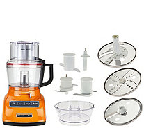 KitchenAid 9-cup ExactSlice Food Processor w/Julienne Disc - K43931
