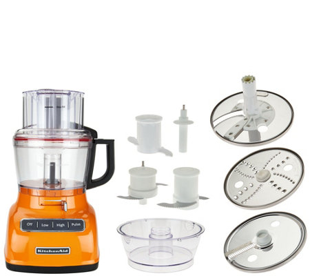KitchenAid 9-Cup ExactSlice Food Processor w/Julienne Disc