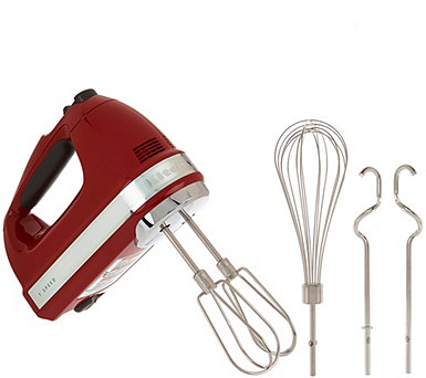 KitchenAid 7-speed Digital Hand Mixer with Dough Hooks - K44731