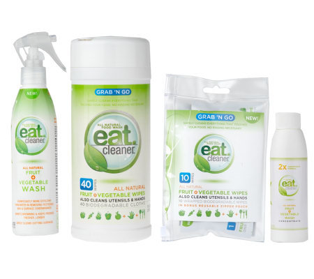 Eat Cleaner Fruit and Vegetable Cleaning Kit