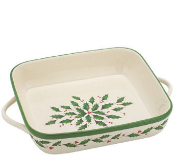 Lenox Holiday Baking Square Baker - K303633