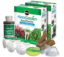 Miracle-Gro AeroGarden S/2 3-Pod Grow AnythingSeed Pod Kits - K305333