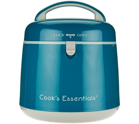 """As Is"" Cook's Essentials 2QT Thermal Cook & Carry"