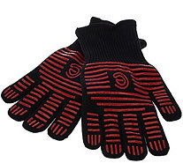 CooksEssentials Colored High Temperature Oven & BBQ Gloves - K43633