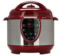 CooksEssentials 4 qt. S/S Digital Pressure Cooker w/ Accessories - K43833