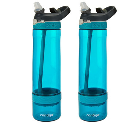Contigo Set of 2 Fruit Infusion Water Bottles