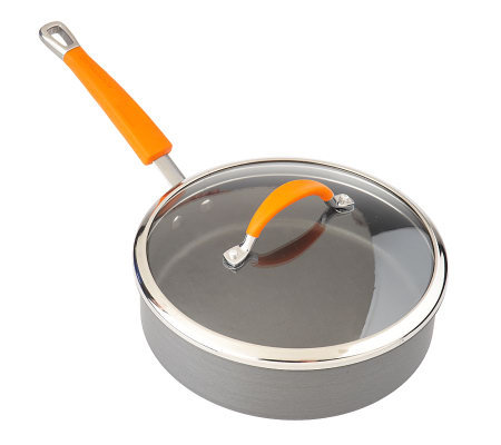 Rachael Ray Hard Anodized 3 qt. Covered Saute