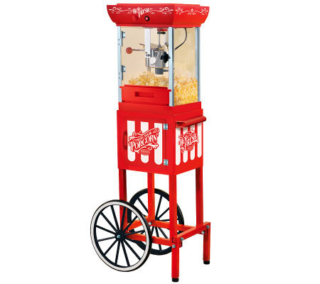 Nostalgia Electrics Old Fashioned Popcorn Cart