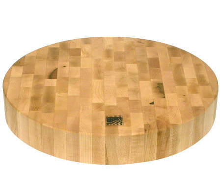 "Snow River Round Cutting Block 14""Diameter"