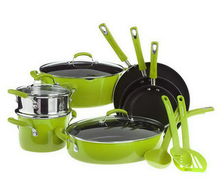 Rachael Ray 13-piece Gradient PorcelainEnamel Cookware Set