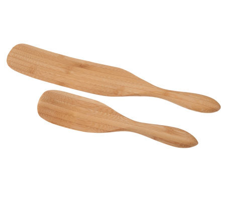 Mad Hungry 2-Piece Bamboo Spurtle Set