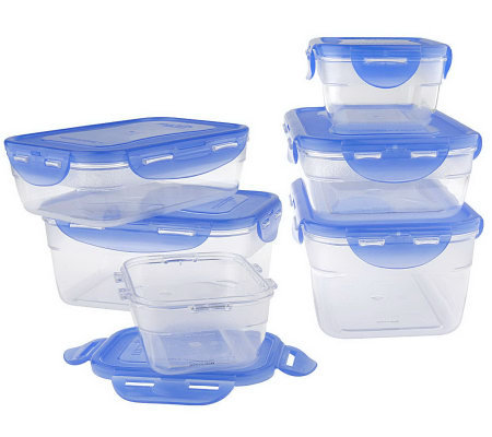 Lock & Lock 6-piece Polycarbonate Food Storage Container Set